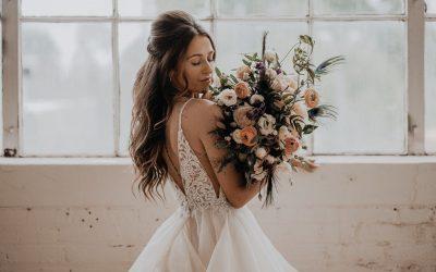 Choisir une robe de mariée princesse adaptée à sa morphologie